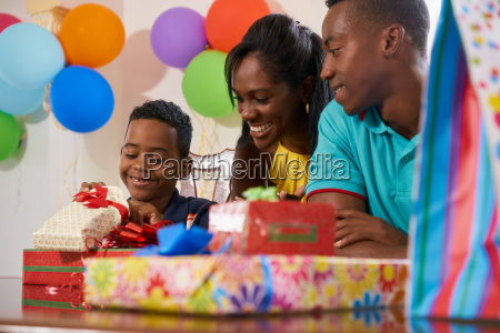 birthday party at home with black