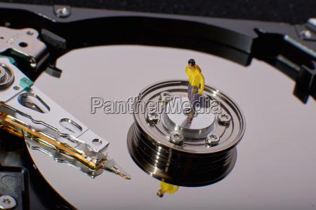 conventional computer harddiskdrive