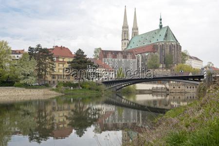 die peterskirche in goerlitz ostdeutschland