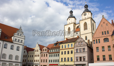 renaissance houses on the market square