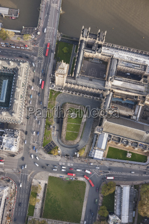 directly above view of big ben