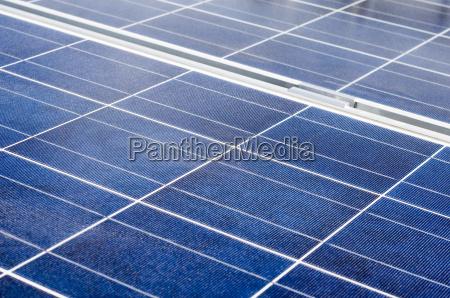 solarpanel und polykristalline photovoltaikzellen