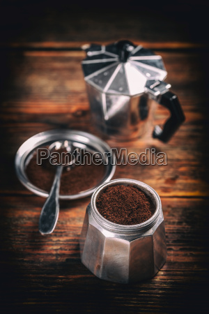 alter kaffee machen
