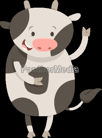 cute cow or calf animal