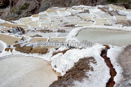 the maras salt ponds located at