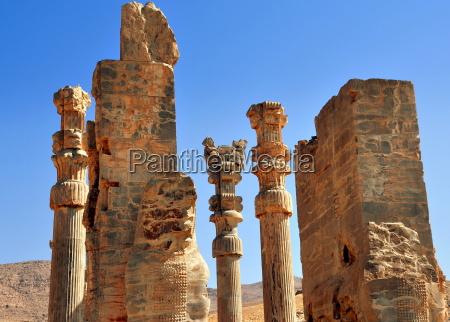 tor der nationen im antiken persepolis