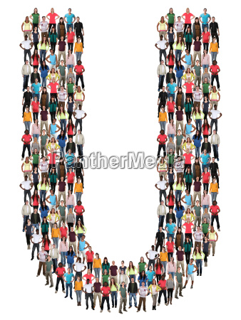 letter u alphabet people people people