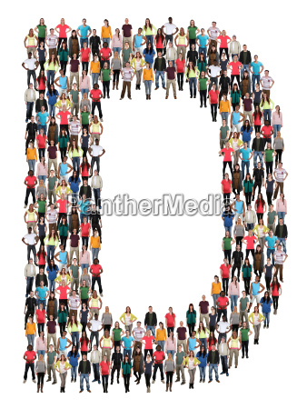 letter d alphabet people people people