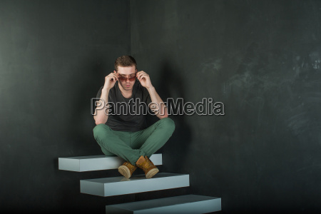 studio photography young brutal guy man