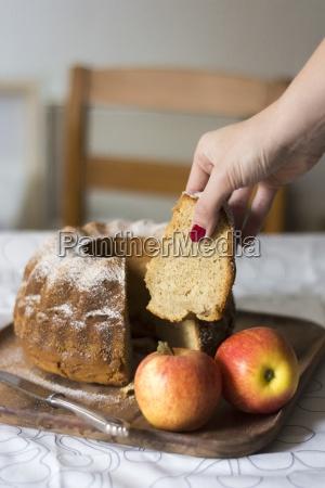 apple gugelhupf