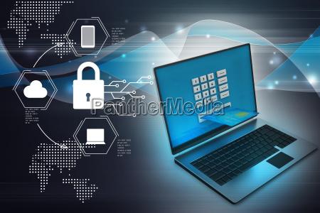 laptop computer mit einer kreditkarte online