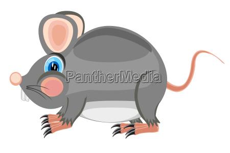cartoon von schwefel der ratte