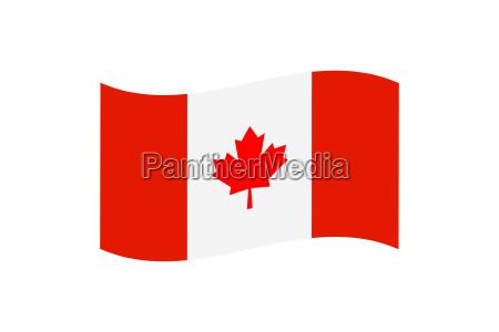 blatt baumblatt kanada fahne flagge ahorn