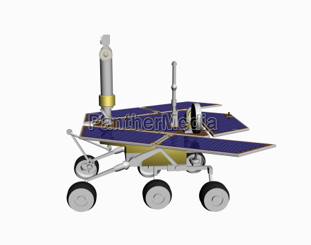 mars rover freigestellt