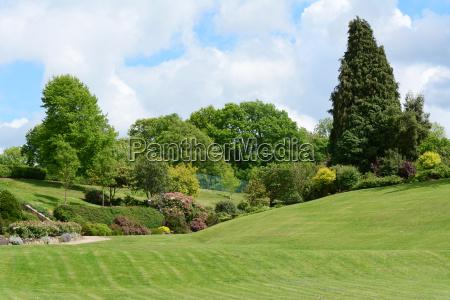 calverley grounds malerischer oeffentlicher park
