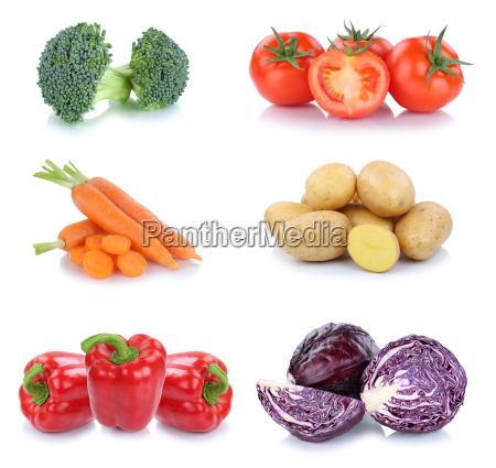 vegetable potatoes carrots tomato peppers food