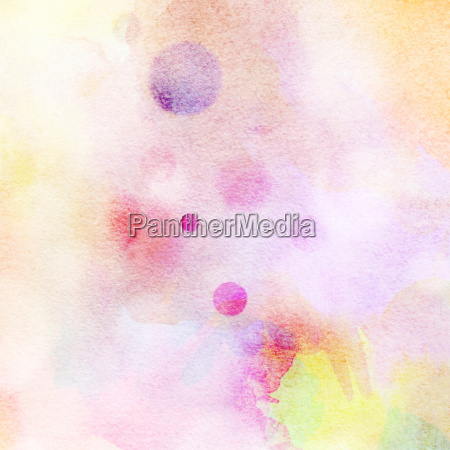 watercolor colorful light circles