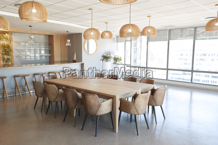meeting room in modern office with