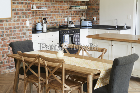 stylish home interior mit open plan
