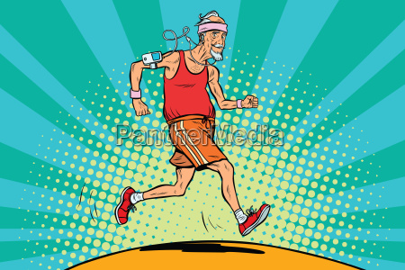 the old man runner healthy lifestyle