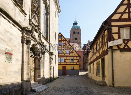 germany central franconia spalt old town