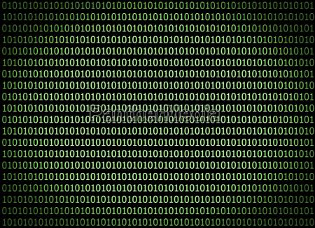 digital technologie software binaer computer hacker
