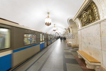 komsomolaskaya metro stationmoskaurusslandeuropa