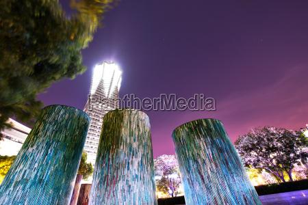 decorativi illuminati elementi di design architettonico