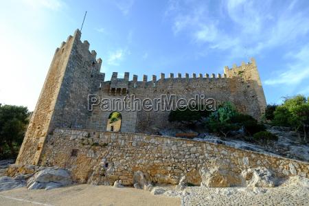 castell de capdepera majorca balearic islands