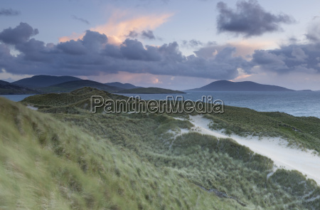 a view across the sound of