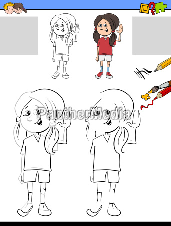 drawing and coloring for children