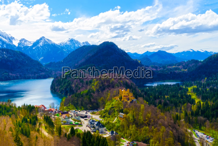 hohenschwangau castle bavaria germany