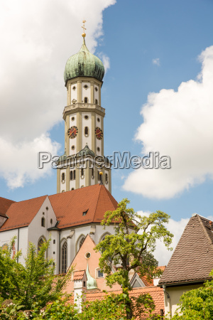 haus gebaeude turm kirche stadt europa