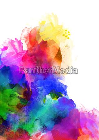 colors textures rainbow concept