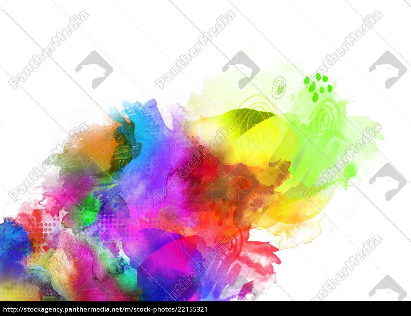 Farben Texturen Regenbogen Konzept Stockfoto 22155321