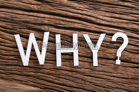 why word with question mark sign