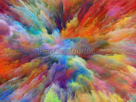 paradigm of surreal paint