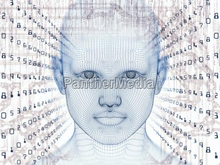 visualization of the digital mind