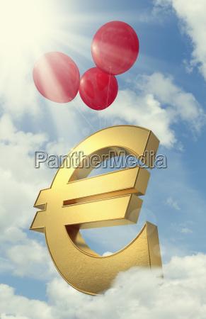 dollar dollars symbolisch farbe model entwurf