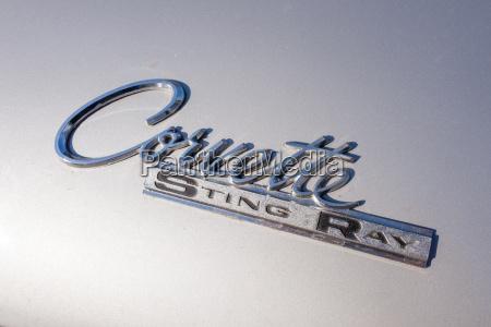detail eines corvette sting ray klassischen