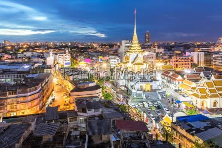 bangkok chinatown tempel