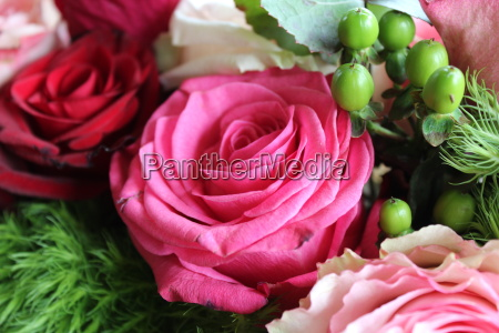 flower, arrangement, with, roses - 22337385