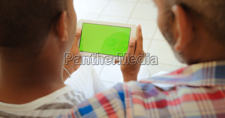 chroma key tablet monitor with gay