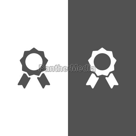 stempel kreis robbe etikett urkunde ikone