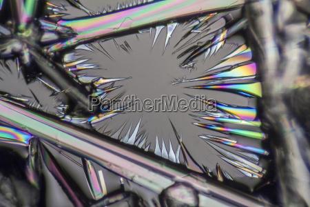 soda lye microcrystals