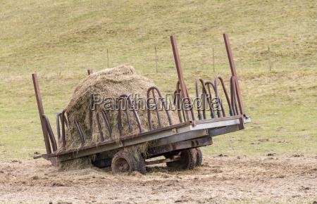 hay and hayrack