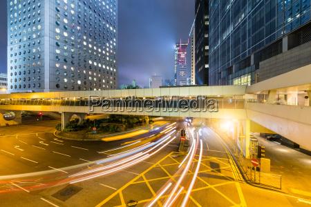 stadtleben in hongkong