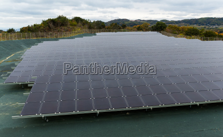 solar power panel factory