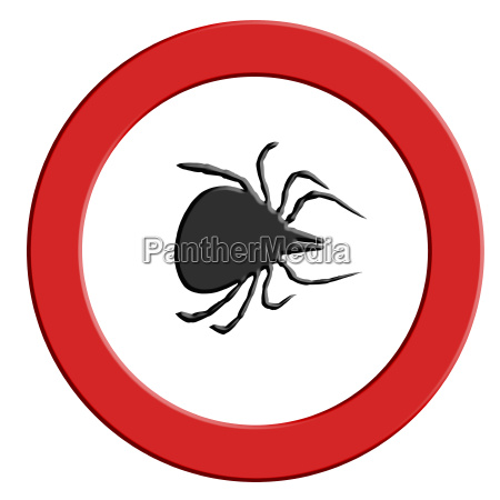 tick u200bu200bwarning red warning sign with