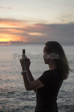 sonnenuntergang bali indonesien abendrot outdoor freiluft